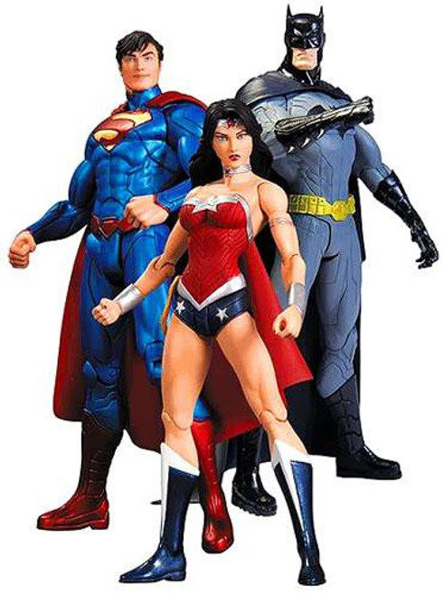 DC The New 52 Trinity War Action Figure 3-Pack