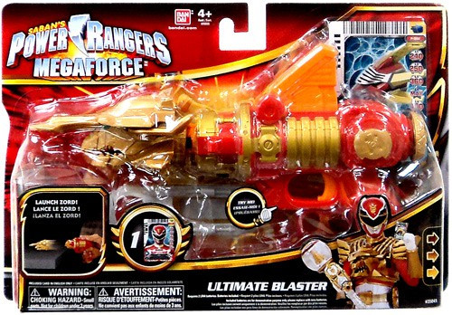 Power Rangers Megaforce Ultimate Blaster Roleplay Toy