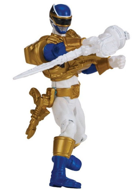 Power Rangers Megaforce Ultra Blue Ranger Action Figure