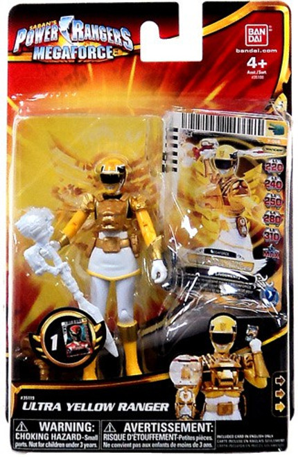 Power Rangers Megaforce Ultra Yellow Ranger Action Figure