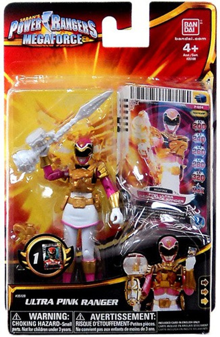 Power Rangers Megaforce Ultra Pink Ranger Action Figure