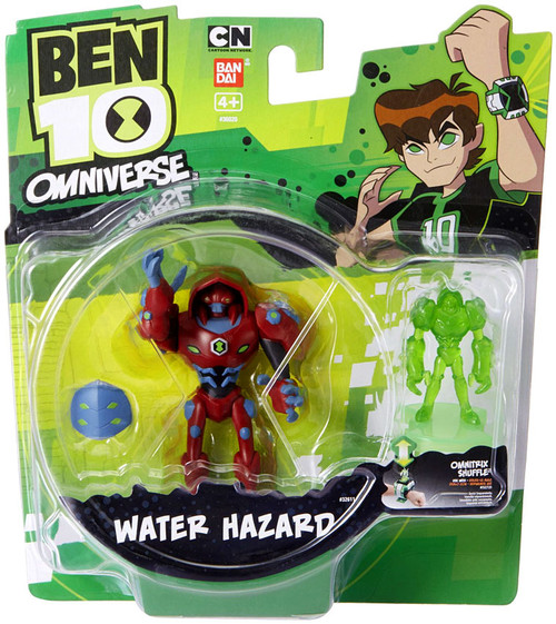 Ben 10 Omniverse Water Hazard Action Figure [With Omnitrix Shuffle]
