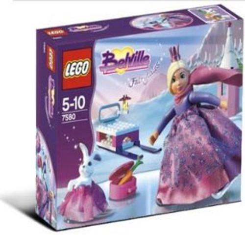 LEGO Belville Skating Princess Set #7580 [Damaged Package]