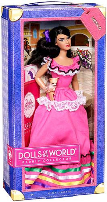 Barbie Dolls of the World Mexico Barbie Doll