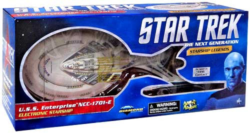 Star Trek First Contact Starship Legends U.S.S. Enterprise NCC 1701-E Exclusive Electronic Starship