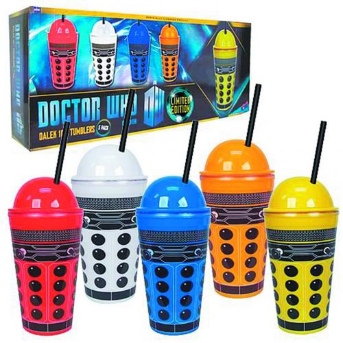 Doctor Who Dalek 16 oz. Tumblers [5-Pack]
