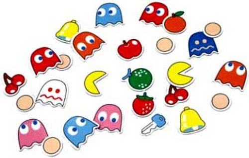 Namco Pac Man Magnets
