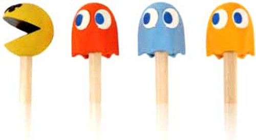 Namco Pac Man Pencil Toppers