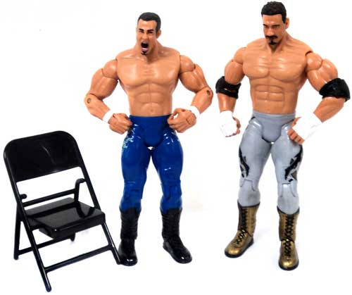 WWE Wrestling Adrenaline Series 6 Los Guerreros Eddie Guerrero & Chavo Guerrero Action Figures [Loose]
