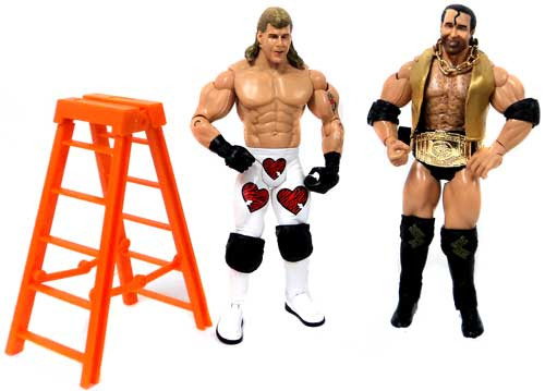 WWE Wrestling Classic Superstars Exclusives Razor Ramon & Shawn Michaels Exclusive Action Figures [Loose]