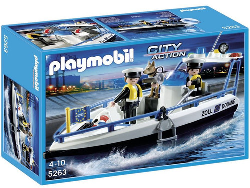 Playmobil City Action Patrol Boat Set #5263