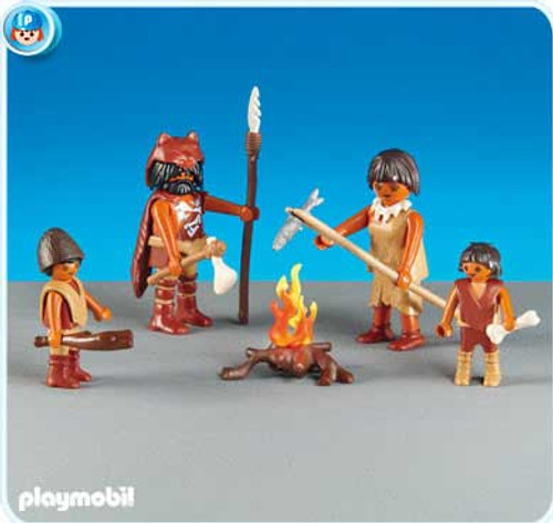 Playmobil Stone Age Family Set #6242