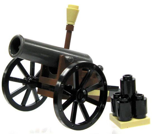 LEGO The Lone Ranger Minifigure Parts 12 Pound Field Cannon Loose Weapon [Loose]
