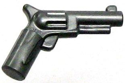 LEGO Minifigure Parts Silver Colt Revolver Pistol 'Six Shooter' Loose Weapon [Loose]