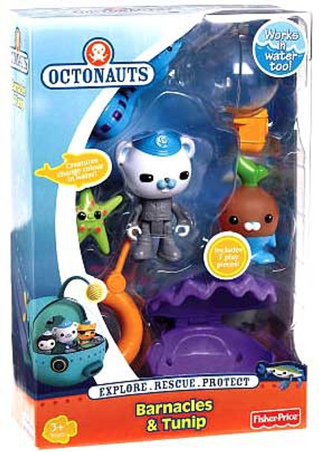Fisher Price Octonauts Rescue Barnacles & Tunip Figure 2-Pack
