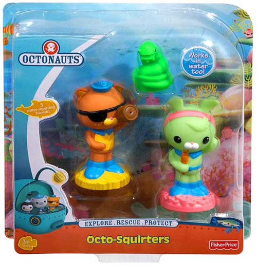 Fisher Price Octonauts Octo-Squirters Eel, Kwazii & Tweak Figure 5-Pack