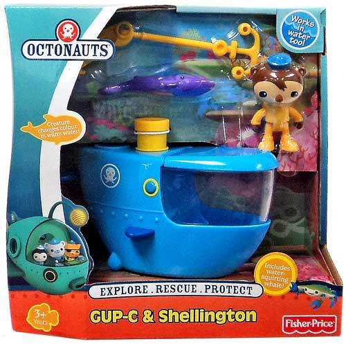 Fisher Price Octonauts GUP-C & Shellington Figure Set