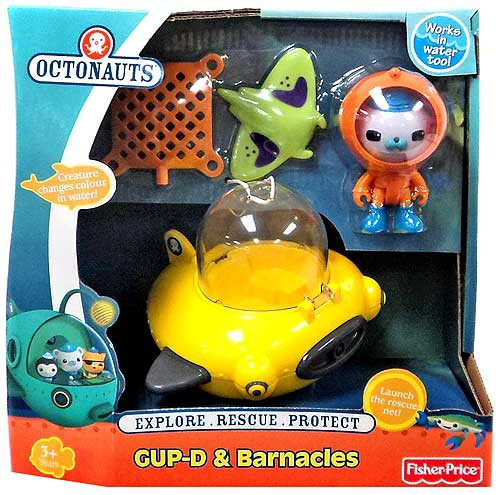 Fisher Price Octonauts GUP-D & Barnacles Figure Set