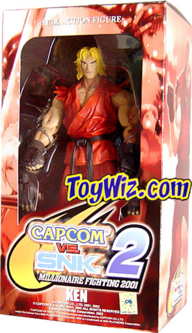 Capcom vs. SNK 2 Series 1 Ken Action Figure 2-Pack