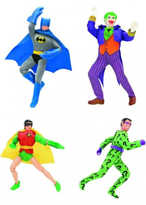 Batman World's Greatest Heroes Series 1 Set of 4 Figures Action Figure Set