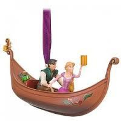 Disney Tangled Flynn & Rapunzel Exclusive Ornament