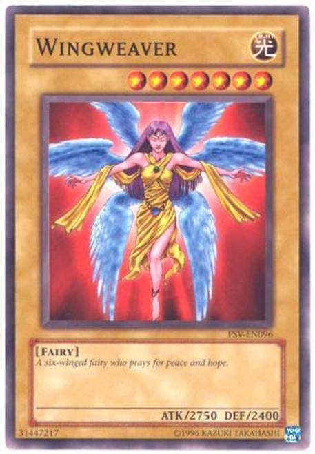 YuGiOh Pharaoh's Servant Common Wingweaver PSV-096