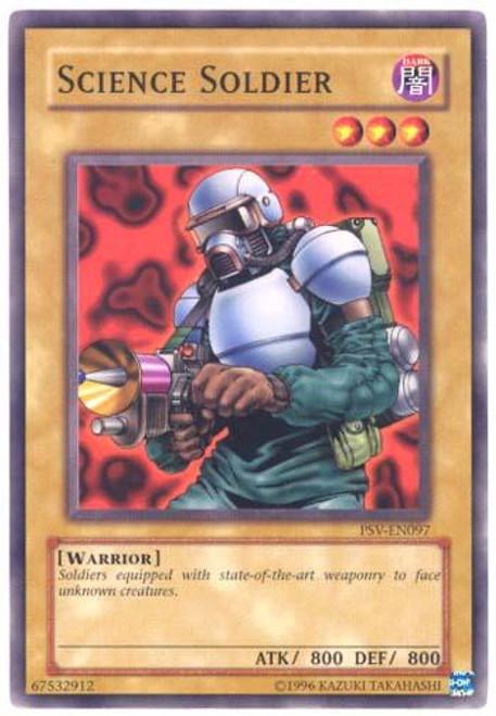 YuGiOh Pharaoh's Servant Common Science Soldier PSV-097