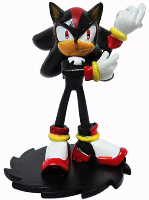 Sonic The Hedgehog Shadow 2-Inch PVC Figure [Modern Loose]
