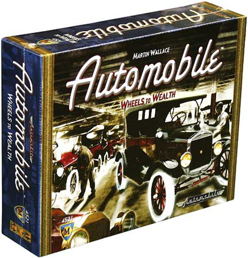 Wheels to Wealth Automobile Board Game