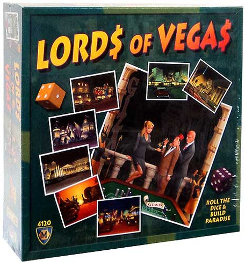 Lords of Vegas Board Game