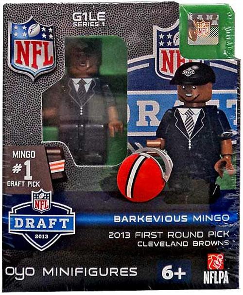 Cleveland Browns NFL 2013 Draft First Round Picks Barkevious Mingo Minifigure
