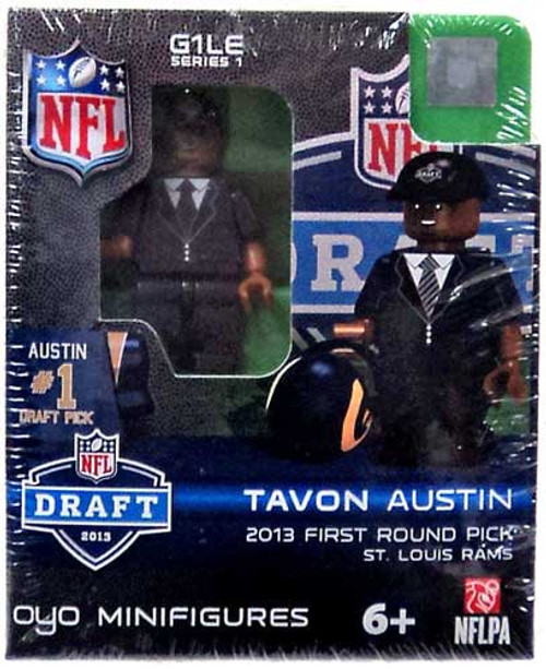 St. Louis Rams NFL 2013 Draft First Round Picks Tavon Austin Minifigure