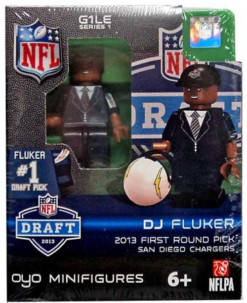 San Diego Chargers NFL 2013 Draft First Round Picks DJ Fluker Minifigure