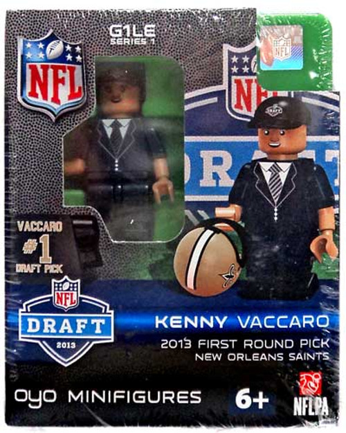 New Orleans Saints NFL 2013 Draft First Round Picks Kenny Vaccaro Minifigure