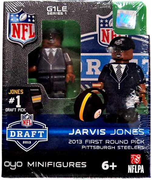 Pittsburgh Steelers NFL 2013 Draft First Round Picks Jarvis Jones Minifigure