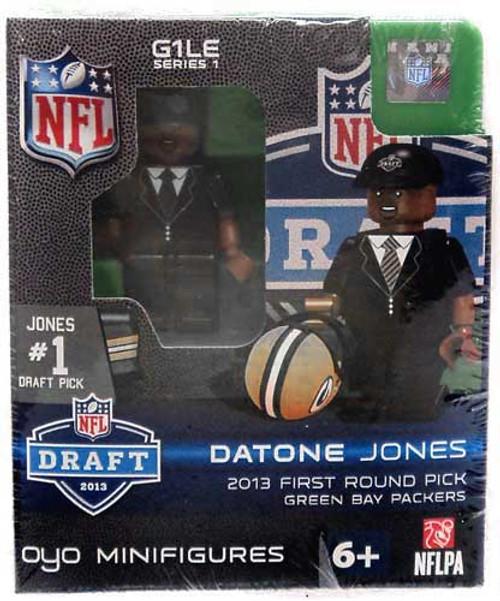 Green Bay Packers NFL 2013 Draft First Round Picks Datone Jones Minifigure