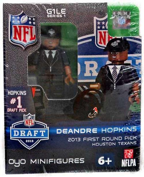 Houston Texans NFL 2013 Draft First Round Picks DeAndre Hopkins Minifigure