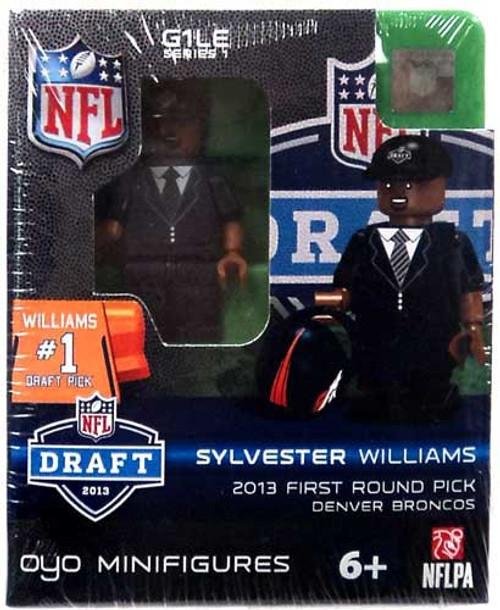 Denver Broncos NFL 2013 Draft First Round Picks Sylvester Williams Minifigure