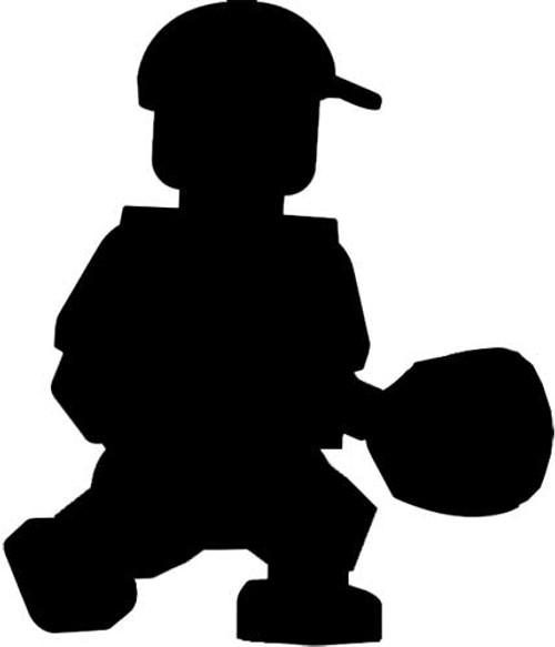 MLB Cincinnati Reds Reds Hall of Fame Sparky Anderson Minifigure