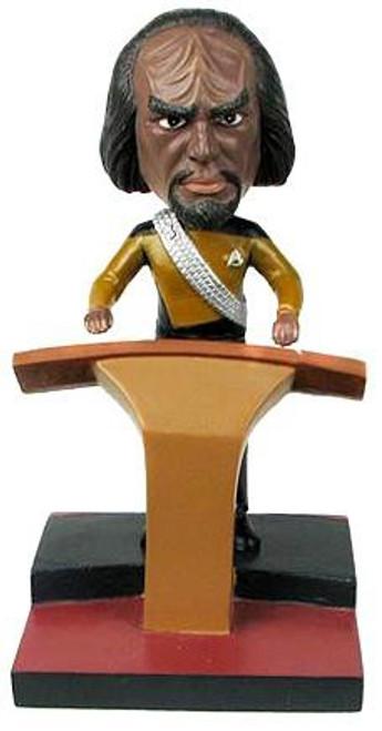 Star Trek The Next Generation Build a Bridge Worf 7-Inch Bobble Head
