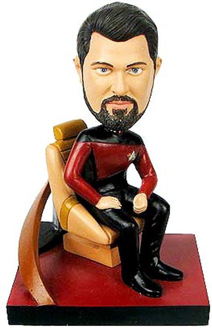 Star Trek The Next Generation Build a Bridge William Riker 7-Inch Bobble Head