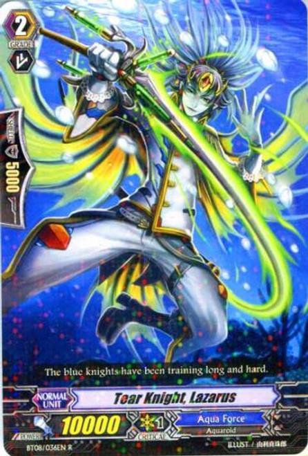 Cardfight Vanguard Blue Storm Armada Rare Tear Knight, Lazarus BT08-036