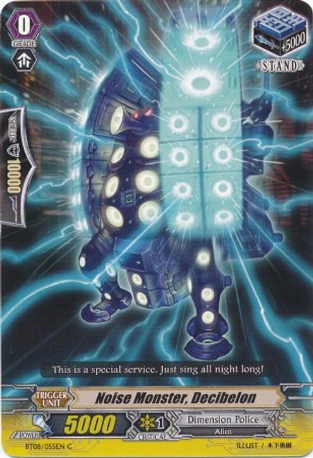 Cardfight Vanguard Blue Storm Armada Common Noise Monster, Decibelon BT08-055