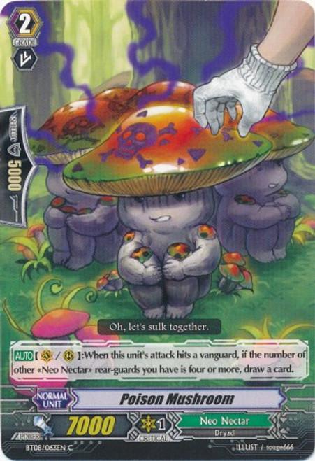 Cardfight Vanguard Blue Storm Armada Common Poison Mushroom BT08-063