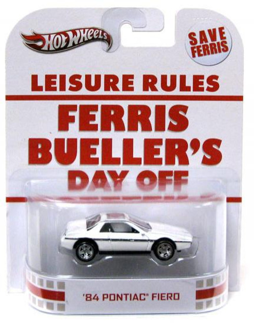 Ferris Bueller's Day Off Hot Wheels Retro '84 Pontiac Fiero Diecast Vehicle