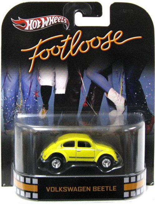 Footloose Hot Wheels Retro Volkswagen Beetle Diecast Vehicle