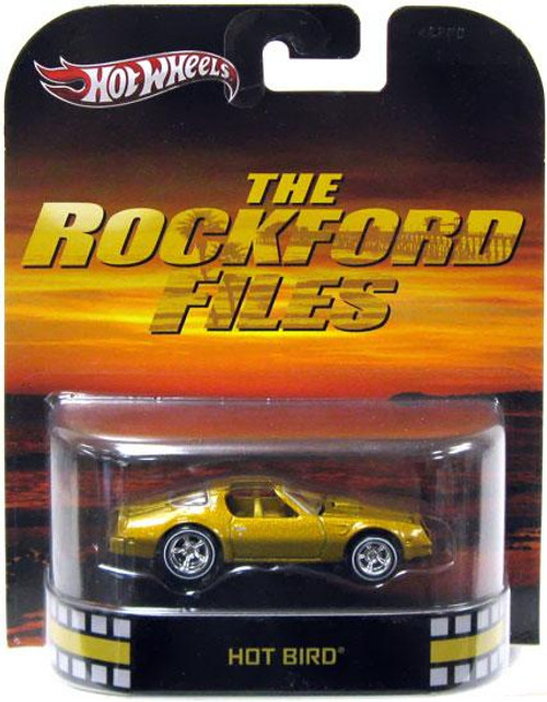 The Rockford Files Hot Wheels Retro Hot Bird Diecast Vehicle