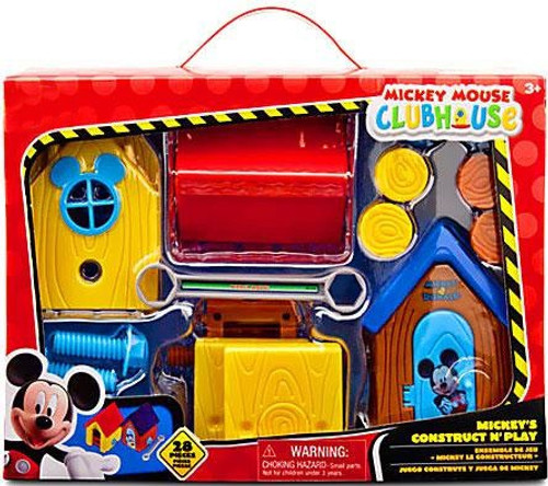 Disney Mickey Mouse Clubhouse Mickey's Construct N' Play Exclusive Playset