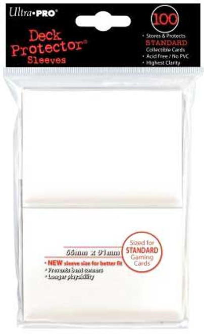 Ultra Pro Card Supplies Deck Protector White Standard Card Sleeves [100 ct]