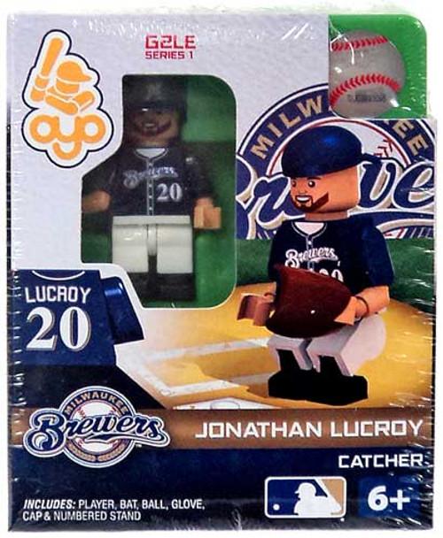 Milwaukee Brewers MLB Generation 2 Series 1 Jonathan Lucroy Minifigure